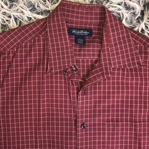 Brooks brothers long sleeve button down shirt
